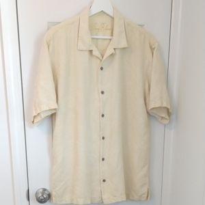 Tommy Bahama 100% Silk Short Sleeve Shirt